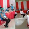 Tim Medis Dari Biddokkes Polda Sulsel, Utamakan Protokol Kesehatan, di Rikkes Awal Catar Akpol dan Casis Tantama Calon Anggota Polri TA. 2020