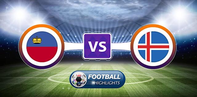 Liechtenstein vs Iceland – Highlights