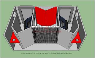 Skema box SUPERSUB S218 subwoofer 18 inch mantap