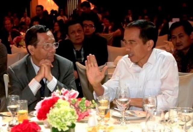 Kepada Mahfud, Jokowi Mengaku Sering Dihina tapi Tidak Pernah Memperkarakan