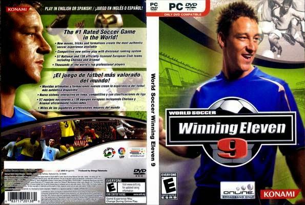 تحميل لعبة Winning Eleven 9 | PES 5 كاملة مقسمة علي ميديافاير