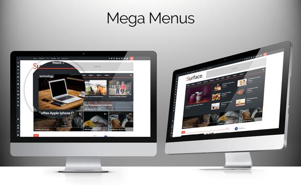 Surface - Responsive Magazine Blogger Theme - 8
