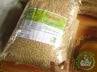 Irman Namri Subang, Jabar  Pembeli Benih Padi TRISAKTI 75 HST Panen   sebanyak 5 Kg atau 1 Bungkus