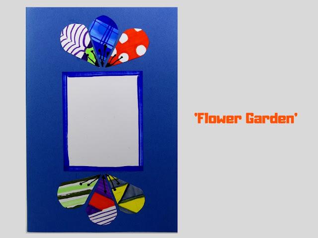 COVER: Flower Garden, pop up card by Minaz Jantz