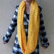 infinity scarf free pattern