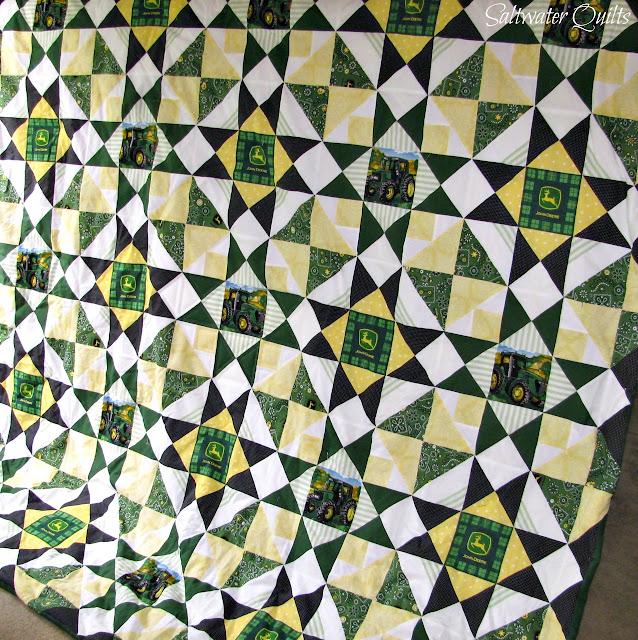 John Deere Quilt | © Saltwater Quilts 2012
