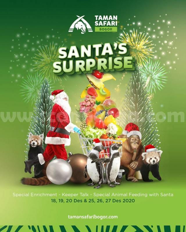 Taman Safari Present Santa's Surprise 2020