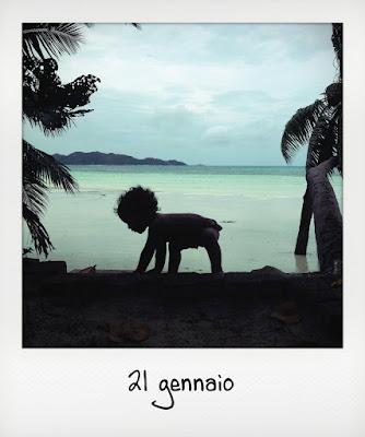 Viaggio alle Seychelles con bambini piccoli: la spiaggia Ansa Volbert a Praslin