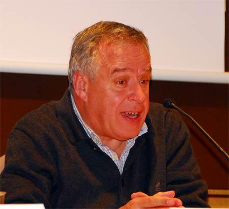 Sr. Lluís Urgell i Montserrat President de Cellers Domenys. Foto Vicenç López