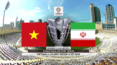 Vietnam vs Iran Live Streaming AFC 2019 (12.1.2019)