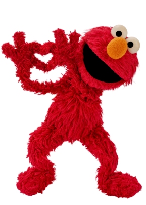 Elmo spreads kindness
