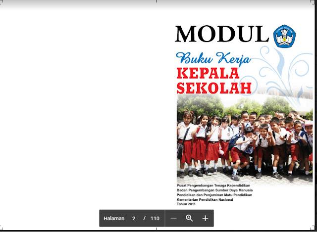 Download Modul Buku Kerja Kepala Sekolah Lengkap