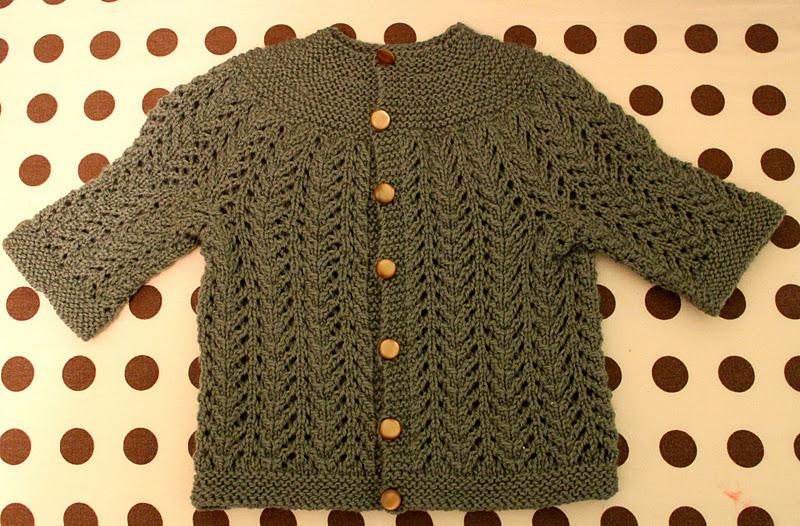 e14956416354 Pattern  Elizabeth Zimmerman s February Baby Sweater Yarn  Cascade 220  sport weight. Needles  size 4