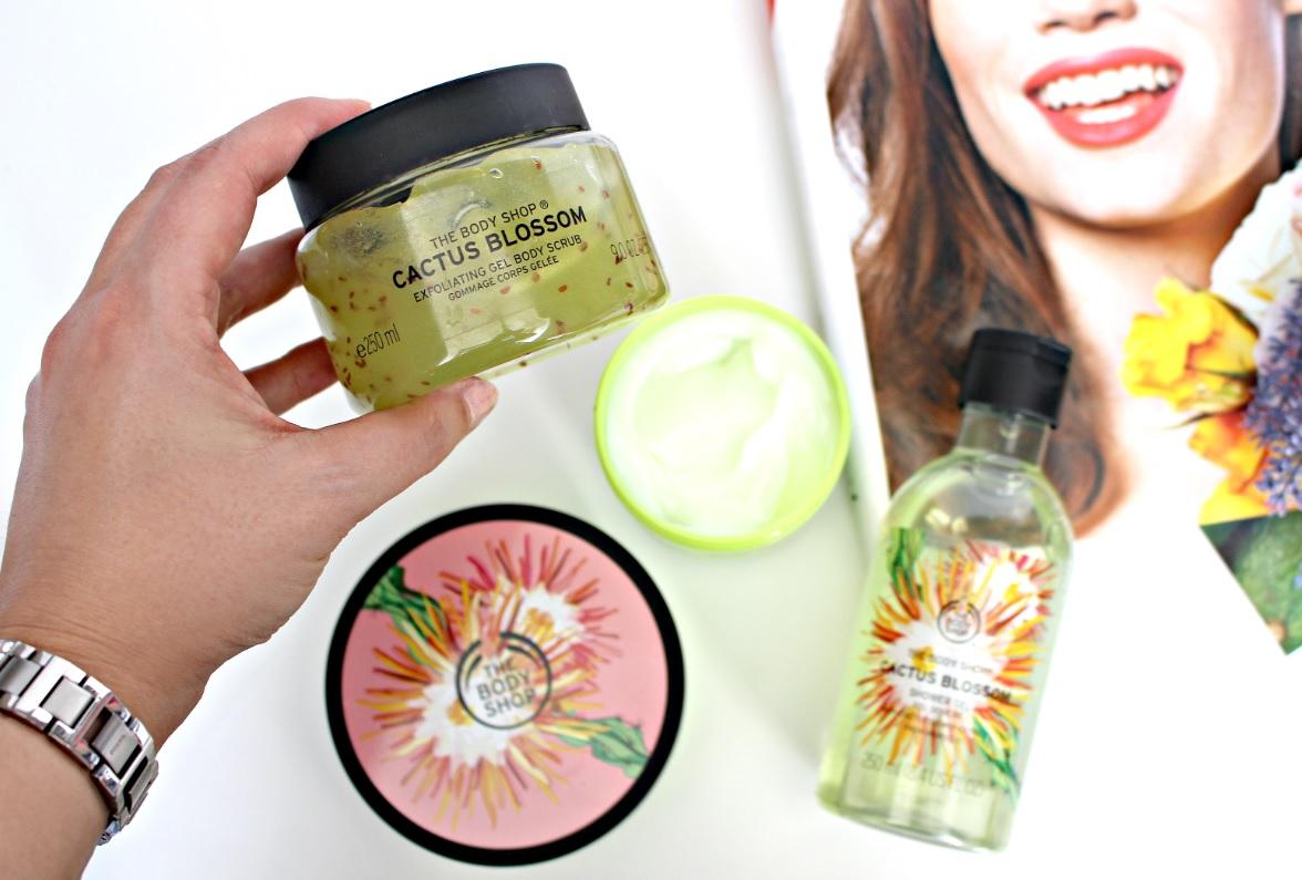 The Body Shop Cactus Blossom scrub