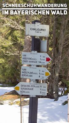 Schneeschuhwanderung im Bayerischen Wald | Schneeschuh Fimbulvetr Hikr Test | Wanderung Tourenbericht + GPS-Track + 3D Animation | Outdoor-Blog