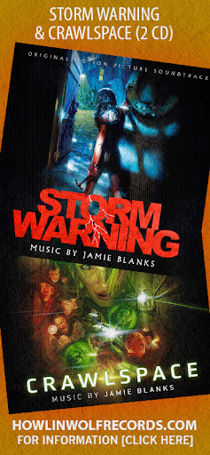 STORM WARNING/CRAWLSPACE 2CD by Jamie Blanks