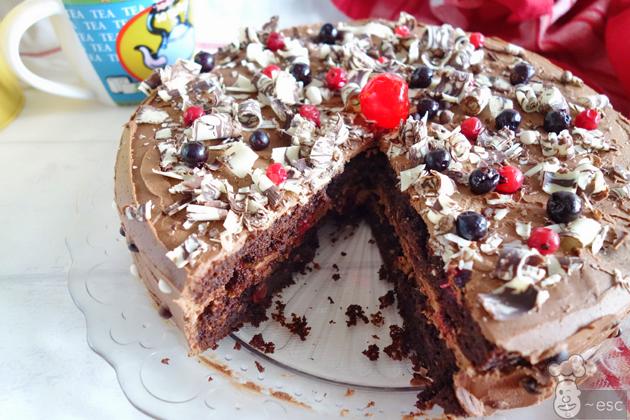 la tarta de chocolate y café más rica del mundo