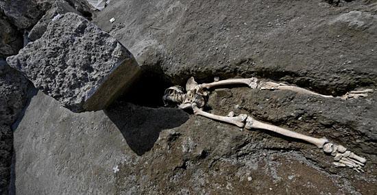 Homem 'mais azarado do mundo' é encontrado em Pompeia - Capa