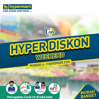 Katalog Promo JSM HYPERMART 6-9 November 2020