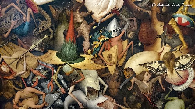Bruegel el Viejo: Caida de los Ángeles Rebeldes (detalle) - Museos Reales de Bellas Artes, Bruselas por El Guisante Verde Project
