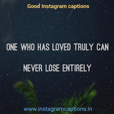 Good Instagram Caption about true love