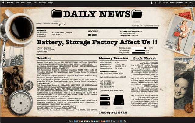 Newpaper Desktop Skin Download