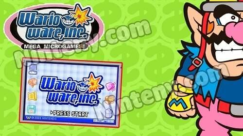 WarioWare, Inc.: Mega Microgames GBA