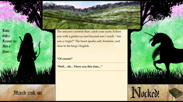 Nocked! True Tales of Robin Hood Free Download PC Game Cracked in Direct Link and Torrent. Nocked! True Tales of Robin Hood – You are Robin Hood! Forge your destiny and fight to liberate Nottingham in this epic story-driven RPG blending interactive fiction, resource…