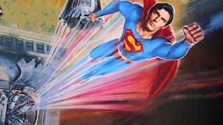 Супермен летит