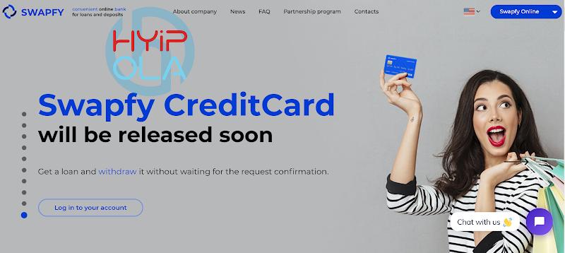 [SCAM] Review Swapfy - Dự án ngân hàng trực tuyến từ Mỹ - Lãi từ 0.66% hằng ngày