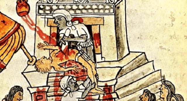 10 Ritual Aneh dan Mengerikan Suku Aztec