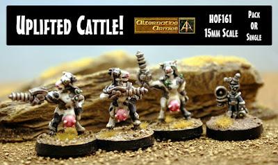 HOF161 Uplifted Cattle 15mm scale released