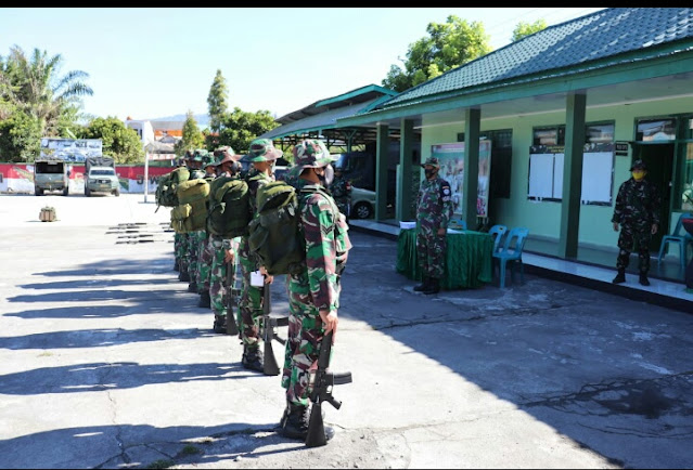 Kodim 0106 Aceh Tengah Tingkatkan Kemampuan Prajurit Sesuai UTP Jabatan