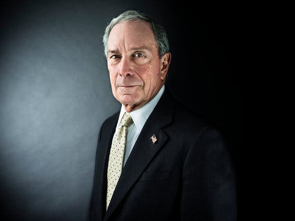 Michael Bloomberg: $55.5 Billion