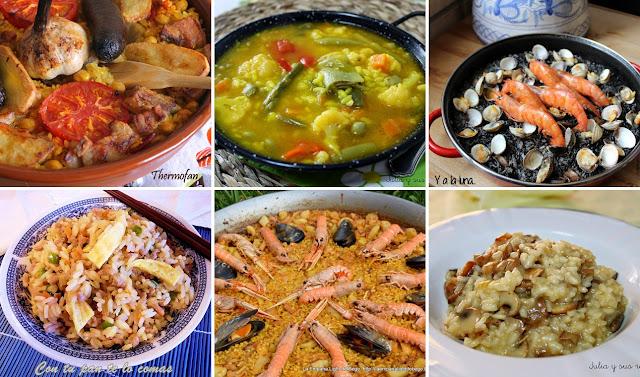 6 platos de arroz deliciosos. Julia y sus recetas