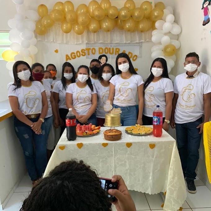Fotos da Palestra realizada UBSF Domingos Seninha - Cidade Nova pela Equipe da Saúde de Mata Roma - MA,