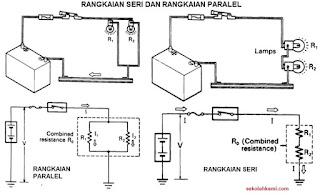 rangkaian seri dan paralel