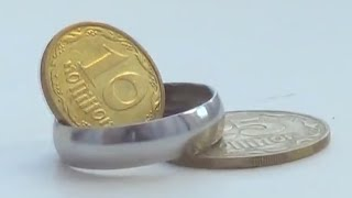 How to make a ring out of a coin – Tutorial