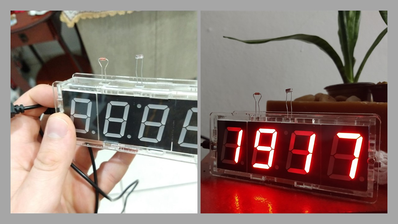 relogio digital termometro diy 4