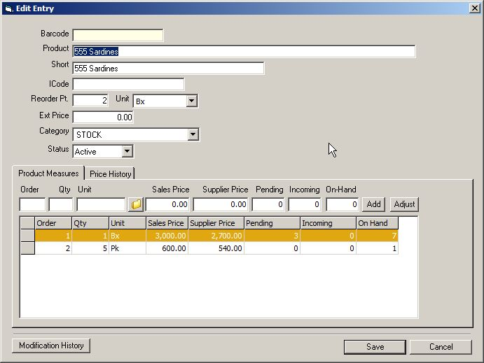 Free Inventory System Source Code Visual Basic