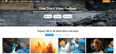 videvo banco de videos profissional blog design total
