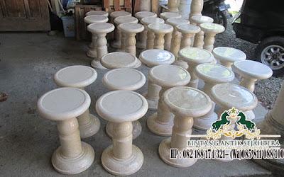 Kursi Marmer Bulat Lampung, Jual Kursi Teras Marmer, Jual Kursi Marmer Harga Murah
