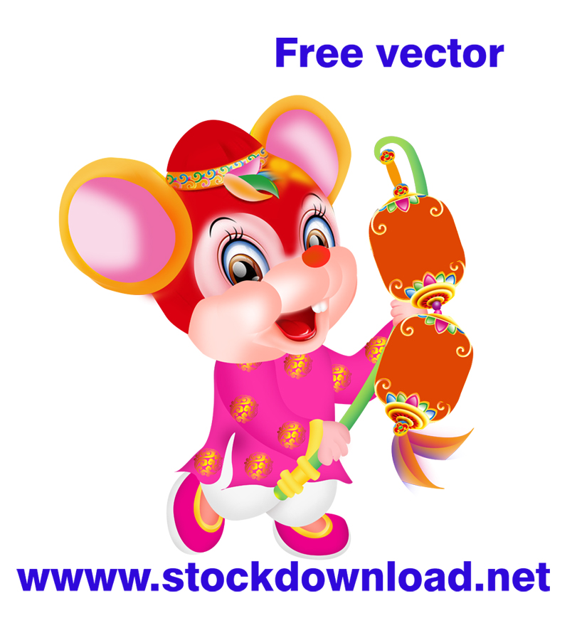 Download vector in lịch tết 2020 free