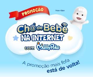 Cadastrar Promoção MamyPoko Chá de Bebê na Internet Ganhe Prêmio e Concorra 12 Mil Reais