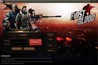 Cara Download, Instal Dan Daftar/Registrasi Game First Blood Terbaru Terlengkap
