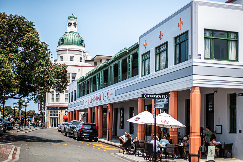 The Dome, T&G Building, Napier, Hawkes Bay, New Zealand.