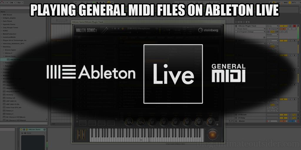 Ableton live midi learn