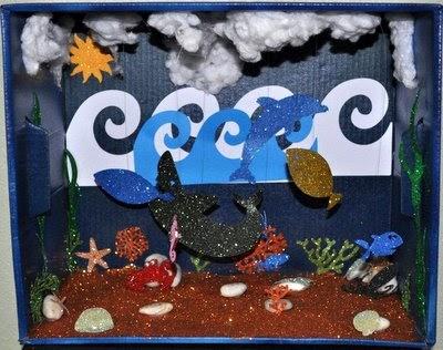 Amanda Sarver: Biome Ocean Project for Kids Elementary ...