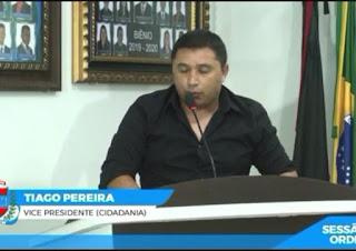 Vereador Tiago da EMATER, solicita Notebooks e impressoras para associações rurais de Cacimba de Dentro