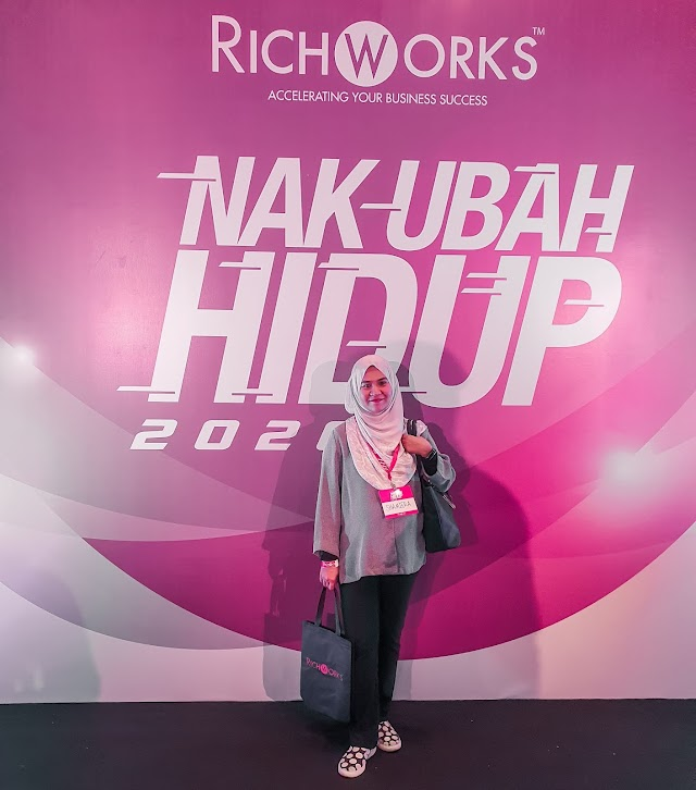 Change Your Life with 'Nak Ubah Hidup 2020' Program by Richworks.